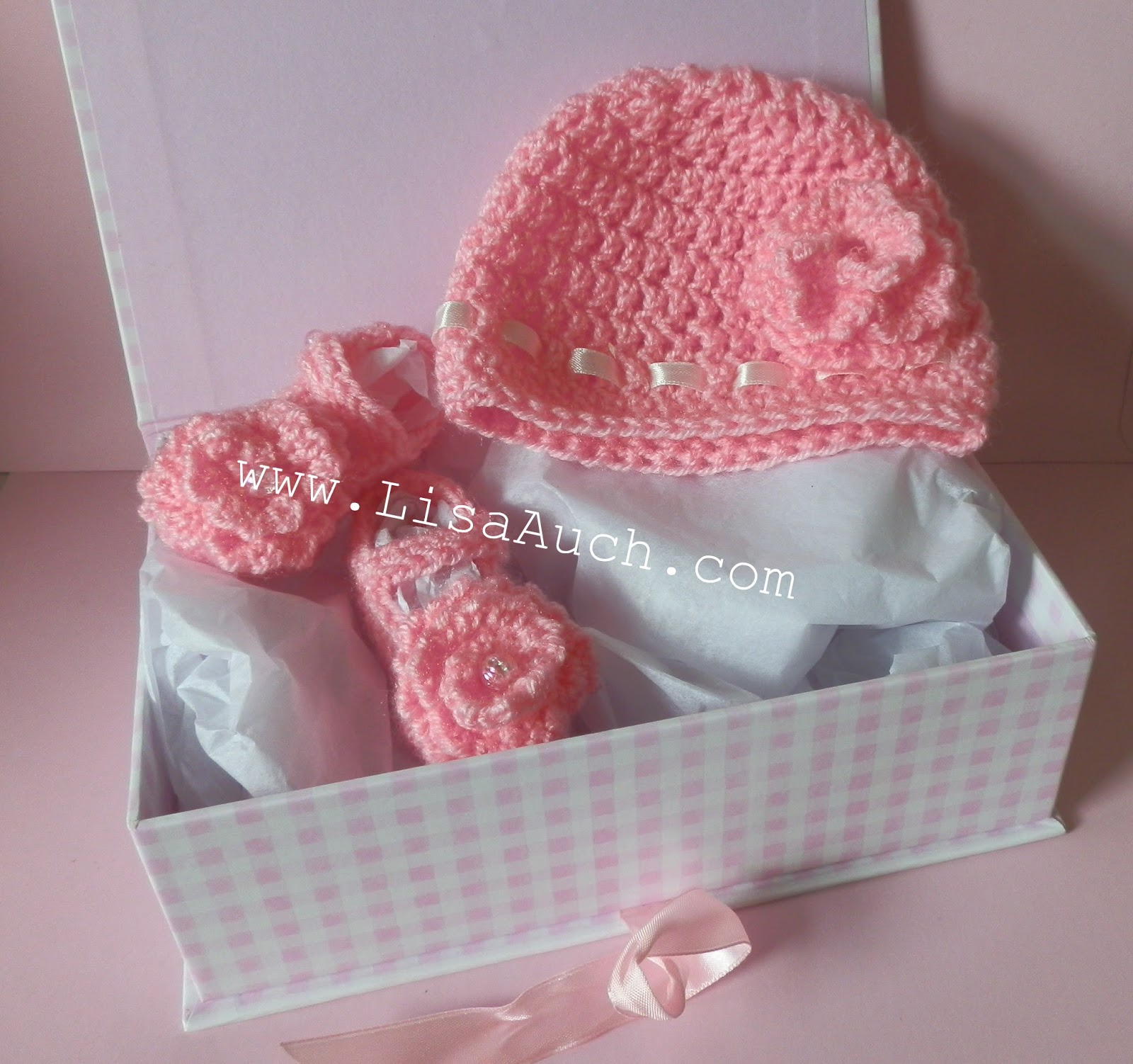 Crochet Newborn : Free Crochet Patterns for Baby Hat and Baby Bootee Shoes Set. (Newborn ...