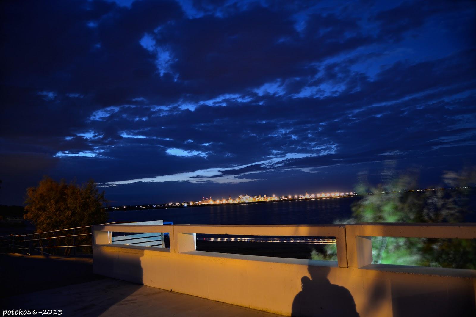 sombras en la noche del fotografo