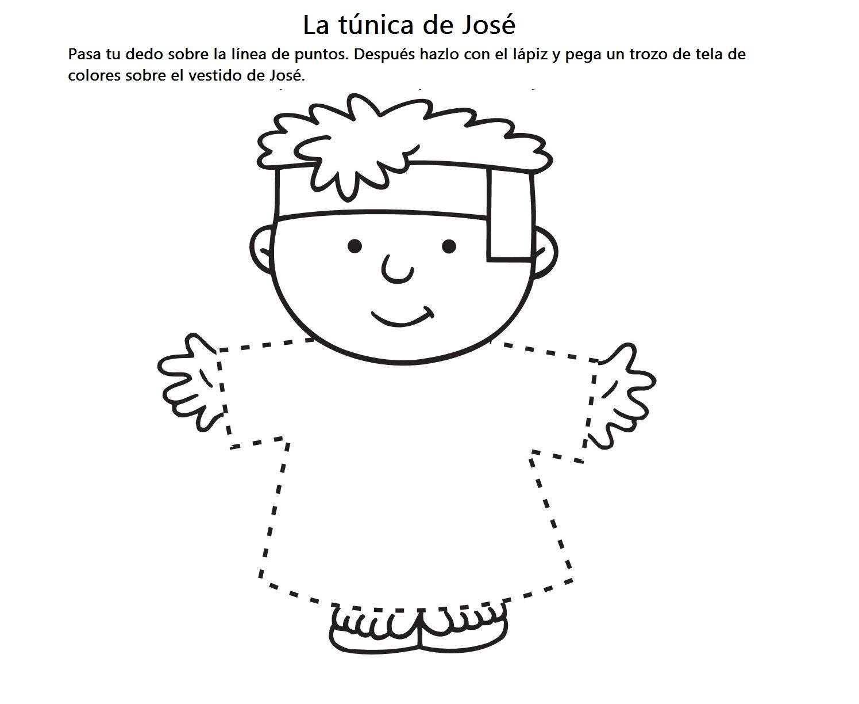 BUENAS NOTICIAS PARA LOS NIÑOS: JOSÉ Y SU TÚNICA DE COLORES