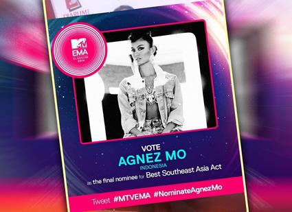 Apakah Agnez Mo Masuk Nominasi MTV EMA?