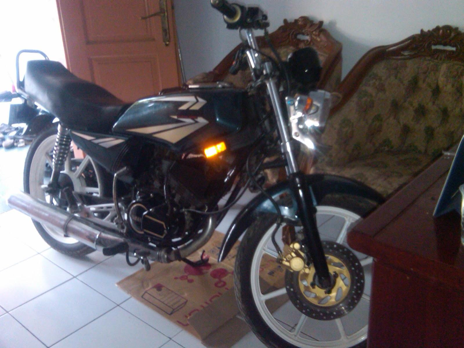 Motor Rx King B 3242 WY Jakarta -Kupang