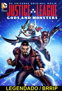 Assistir Liga da Justiça Deuses e Monstros Legendado 2015