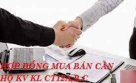hợp đồng mua bán căn hộ kim văn kim lũ ct12 a b c