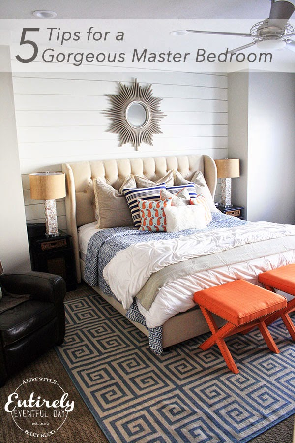 5 tips for creating a gorgeous master bedroom entirely for Gorgeous master bedrooms