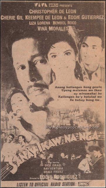 Christopher De Leon, movies, Sana'y Ikaw Na Nga, Vina Morales, Viva Films