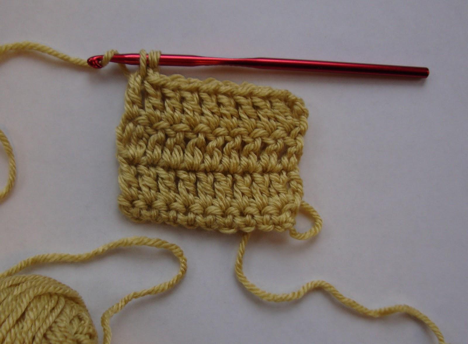 Reverse Single Crochet : The Good Life: Reverse Single Crochet Tutorial
