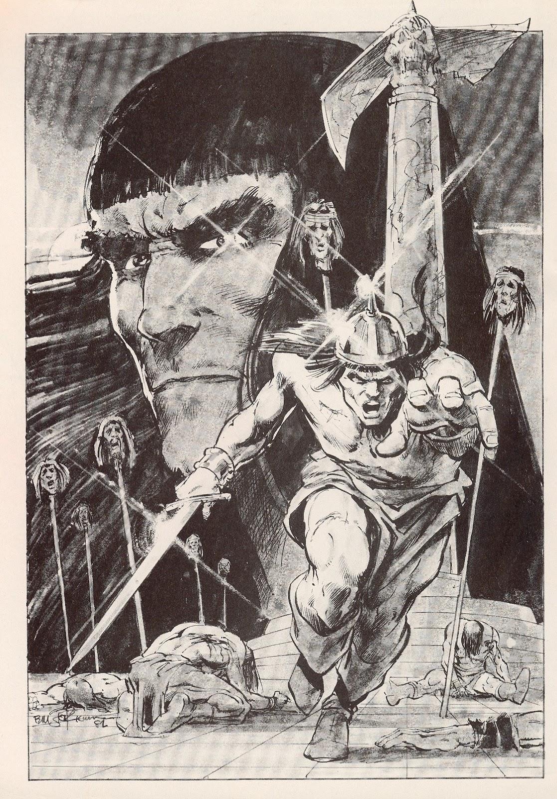 The Savage Sword Of Conan Issue #76 #77 - English 2