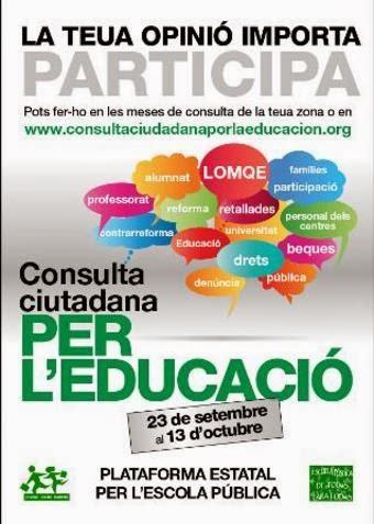 Consulta Ciutadana --> Fins 27 d'Octubre