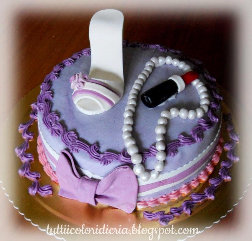 Tutti i colori di cria torta per una 13enne - Immagine di una ragazza a colori ...