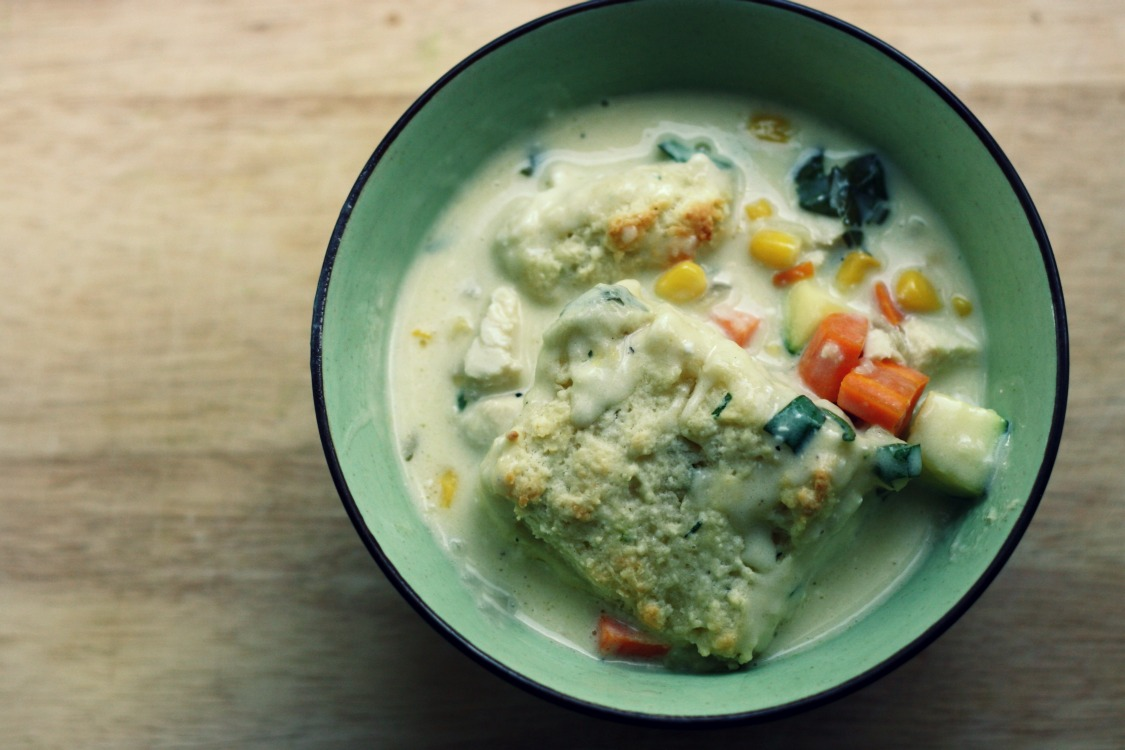 ... Bean Blog | chicken pot pie with black pepper and chive biscuits