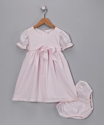 Vestidos de Bautizo, Color Rosa