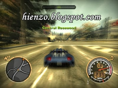 NFS: Most Wanted Black Edition PC Game