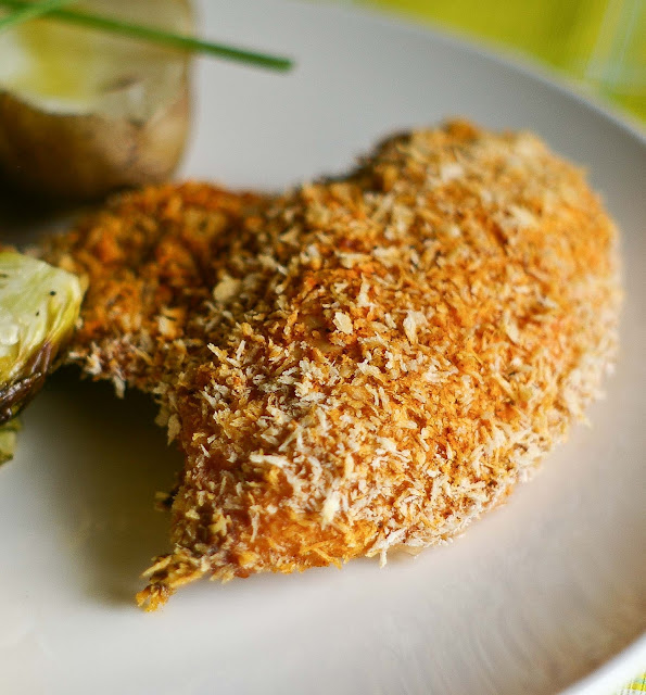 The Yum Yum Factor: Buttermilk Oven Fried Chicken