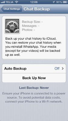 guarda todas tus conversaciones en iCloud