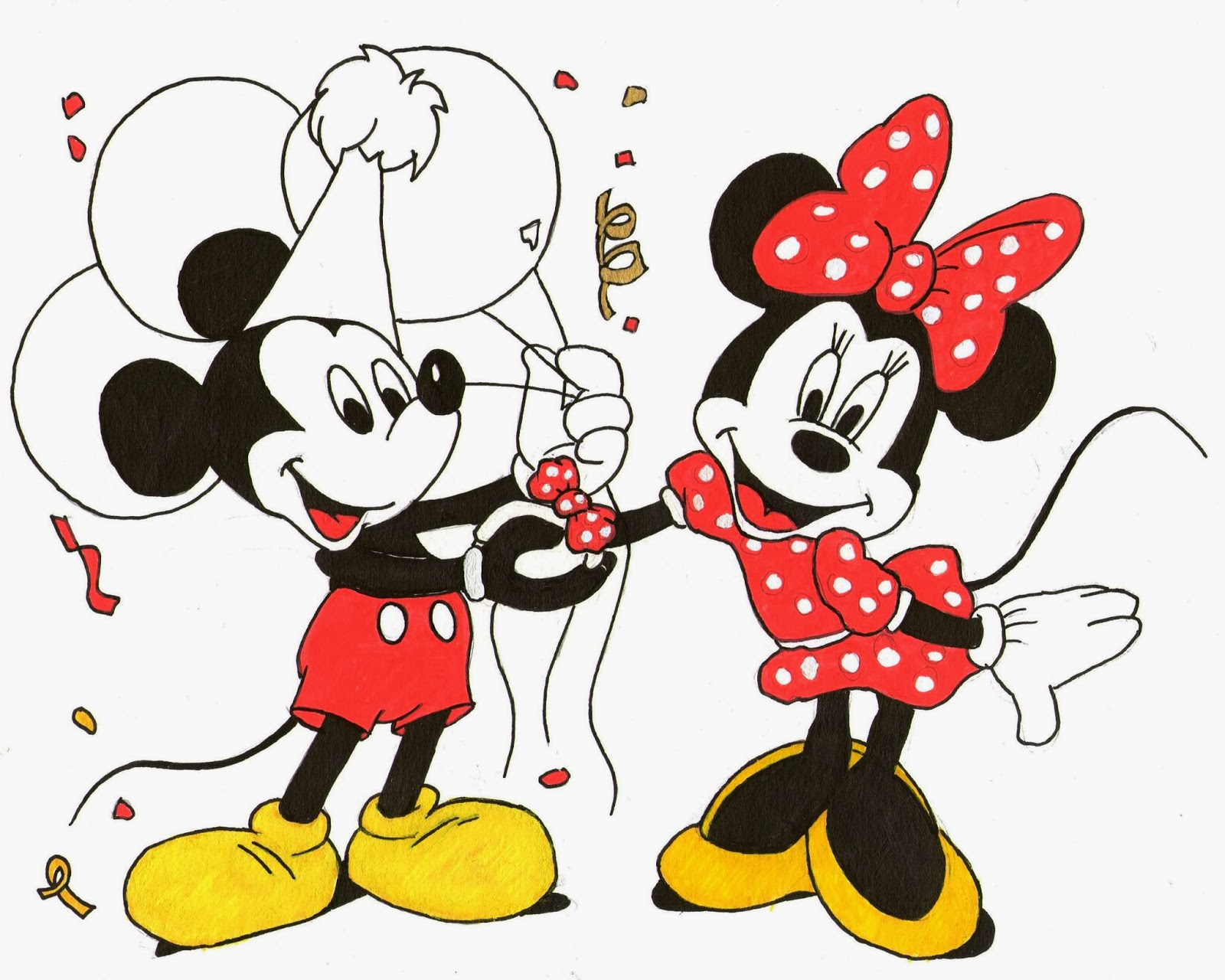 Plut t fraise ou plut t nutella impassyente - Mickey et plutot ...