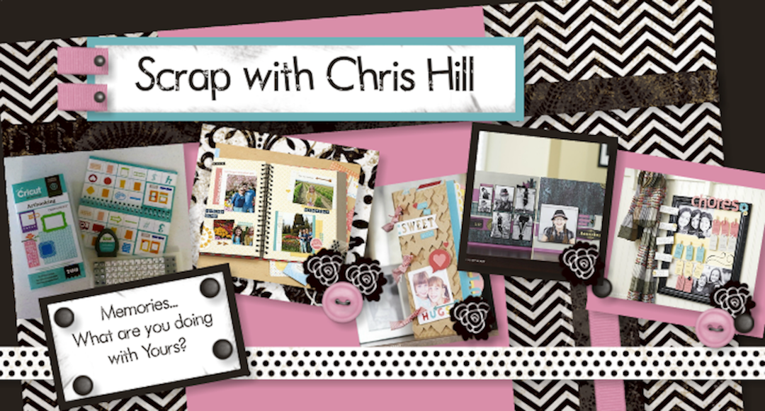 Scrapbook with Chris