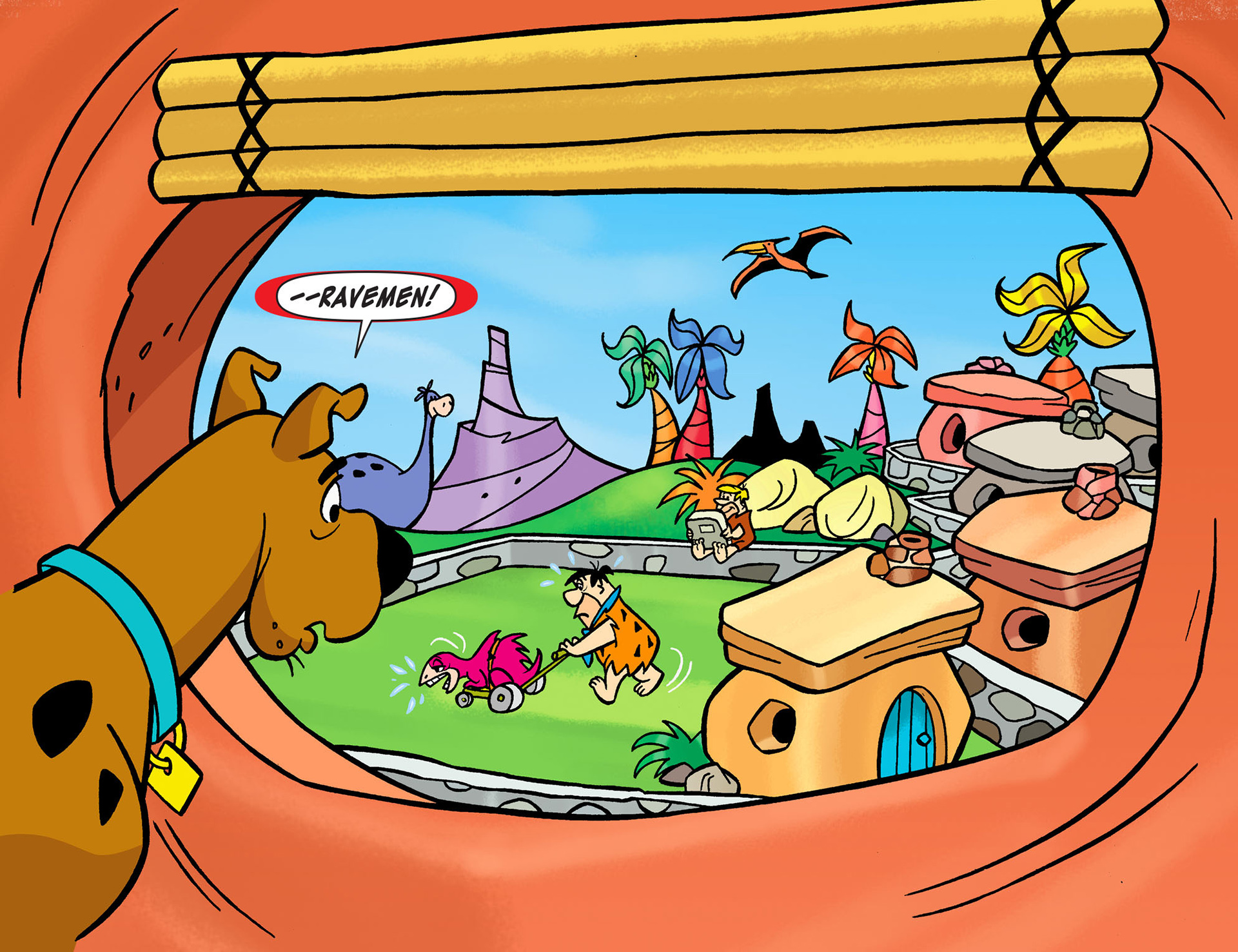 Read online Scooby-Doo! Team-Up comic -  Issue #13 - 6