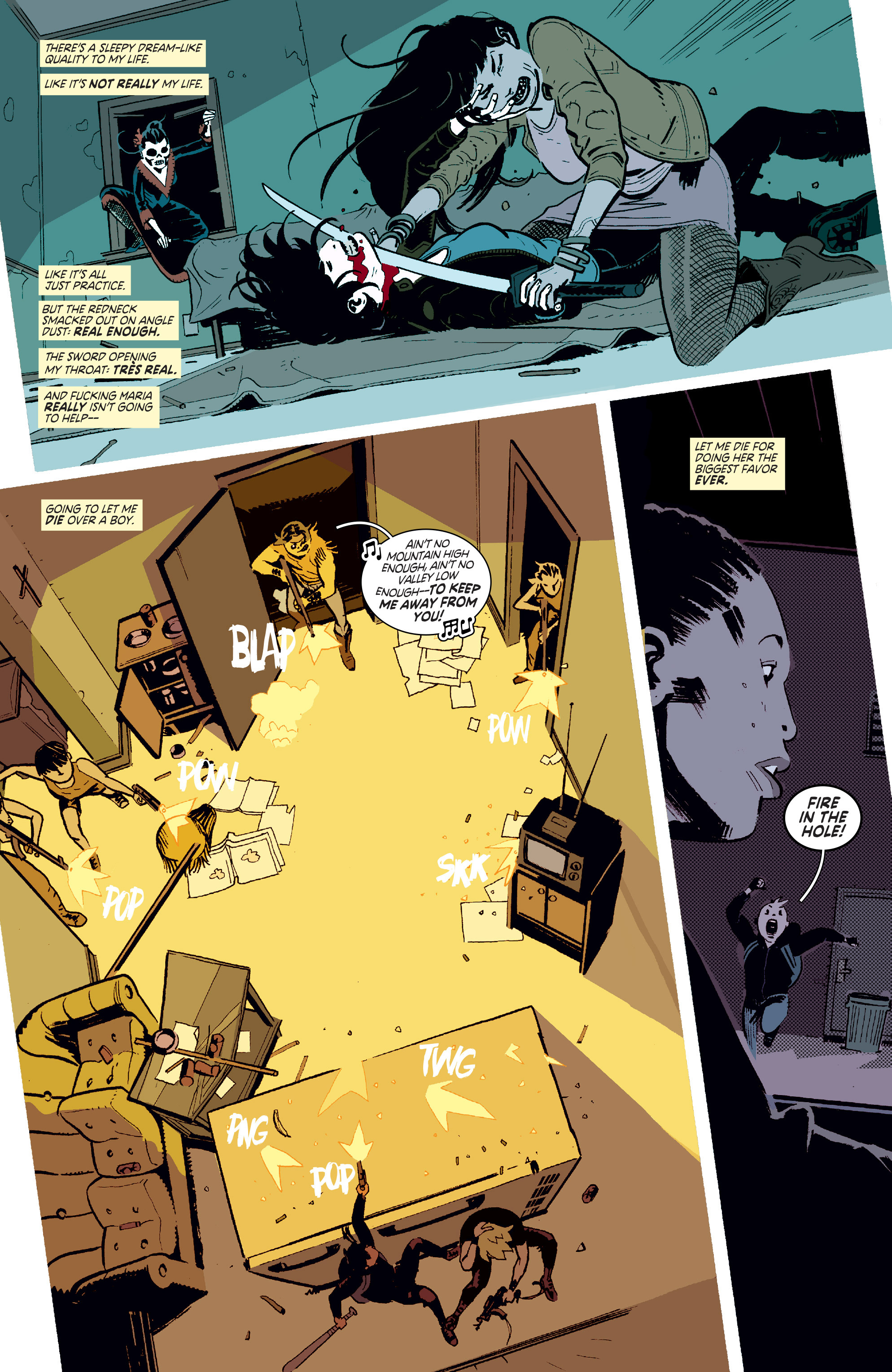 Read online Deadly Class comic -  Issue #11 - 3