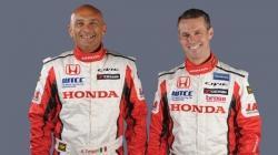Honda WTCC 2013 - Gabriele Tarquini and Tiago Monteiro