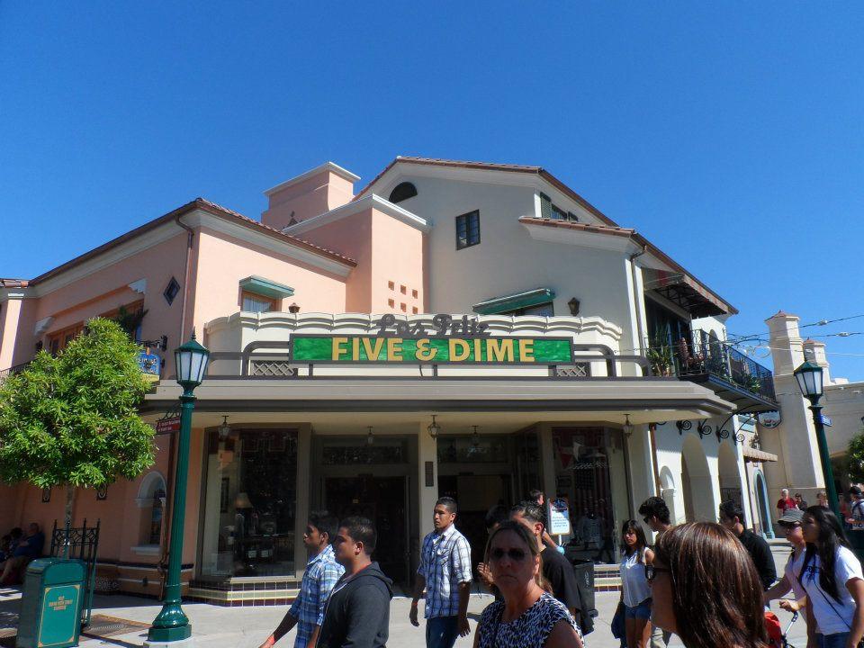 Buena Vista Street History Los Feliz Five Dime Variety Store 2628 Buena Vista St