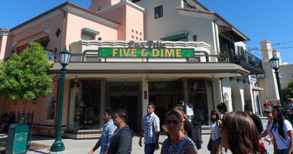 Sasaki time buena vista street history los feliz five Five and dime stores history