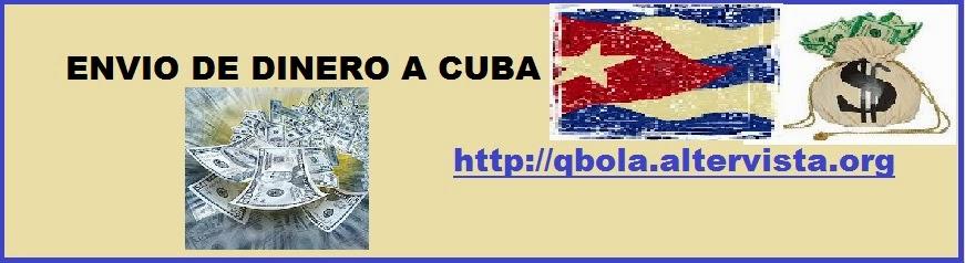Dinero a Cuba