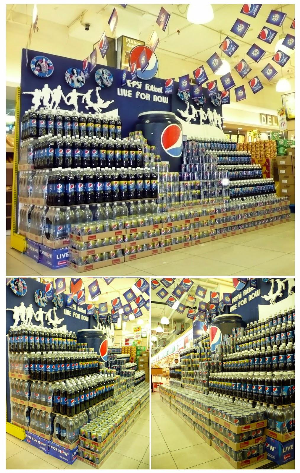 Pepsi Block Display Contest