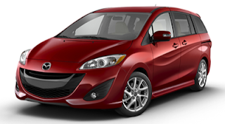 2013 Mazda 5 zeal red mica