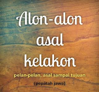 Kata-kata Bijak Bahasa Jawa