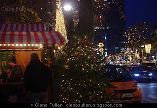 Christmas in Berlin, Kurfürstendamm, photo by Ciana Pullen, 2014.