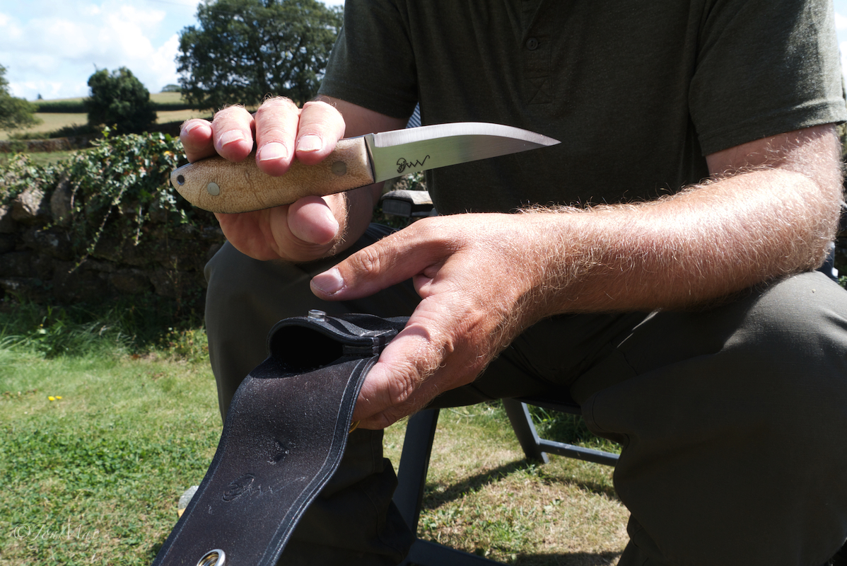 Bushcraft knife+spoon carving knife+jonmac+MaChris+14C28N