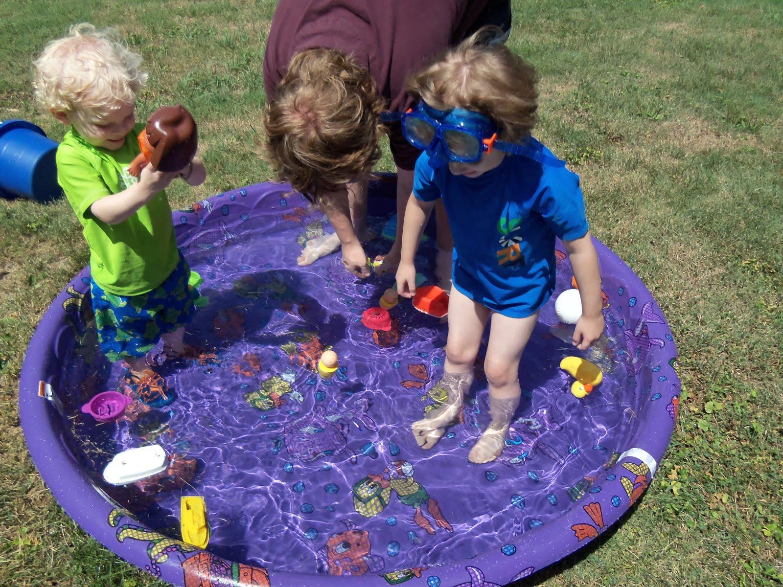 homeschooling special kids backyard water fun and trip to