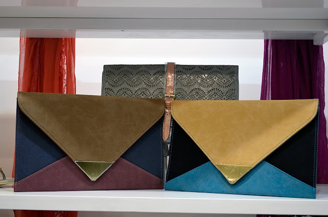clutch bags from Elle S/S 2013 collection