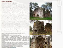 Lista Roja del Patrimonio: Ermita de Santiago (Alburquerque)