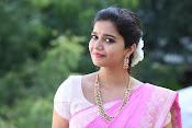 Swathi Dazzling in Pink saree-thumbnail-7