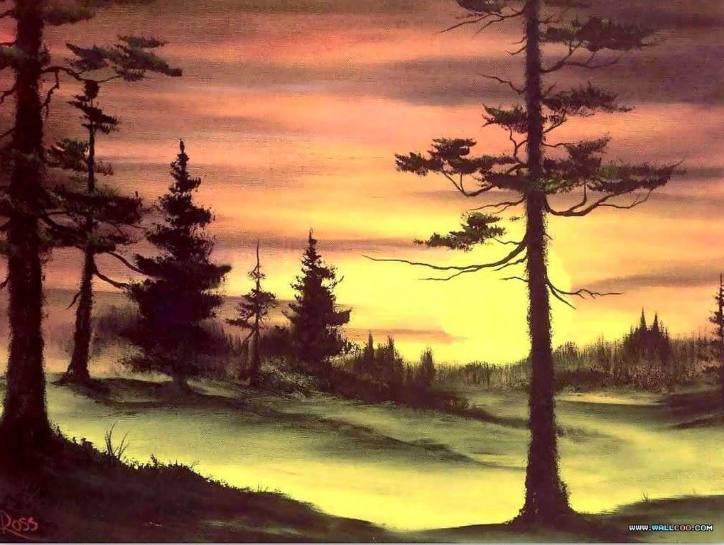 Cuadros modernos pinturas y dibujos fotos de paisajes for Cuadros a medida