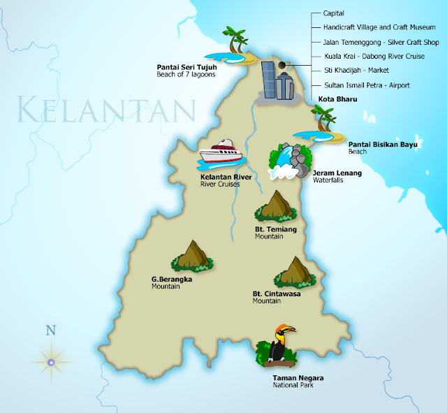 Kelantan - State And Attractions | Tourism