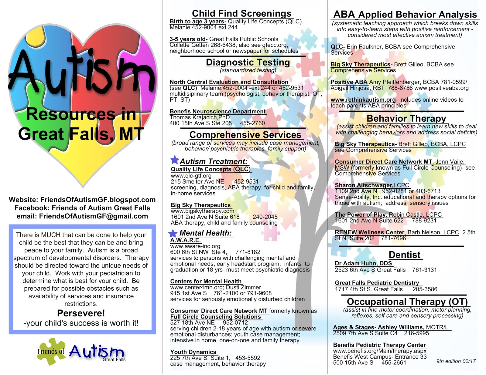 Autism Resource page 1