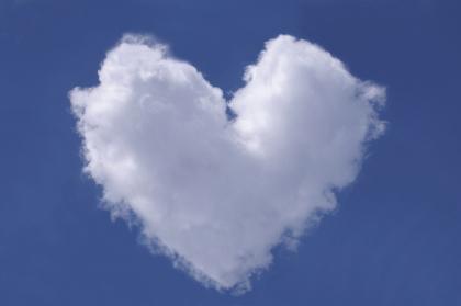 Nuvem em Coração, nuvem amor