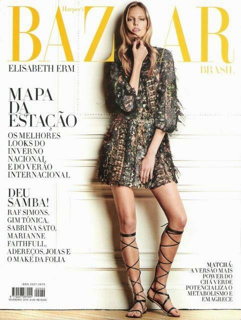 Model: Elisabeth Erm by Thanassis Krikis for Harper's Bazaar Brazil