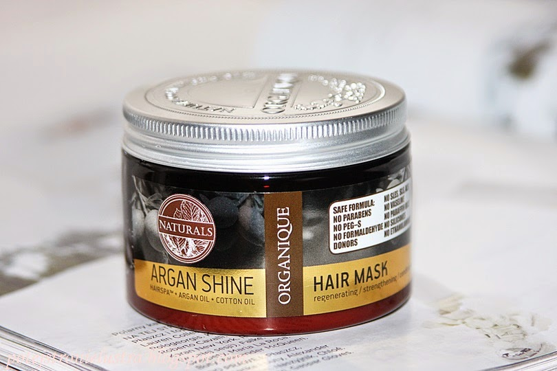 Organique Argan Shine Hair Mask