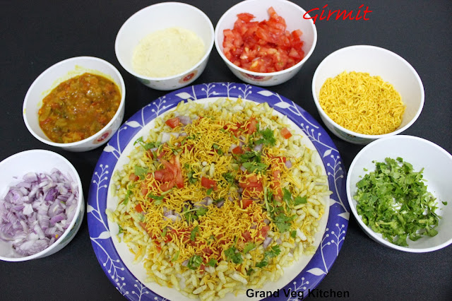 Girmit-Quick Specialty Snack of Hubli-Quilt Free