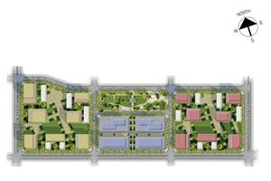 The Maridien at High Street South Block Site Development Map