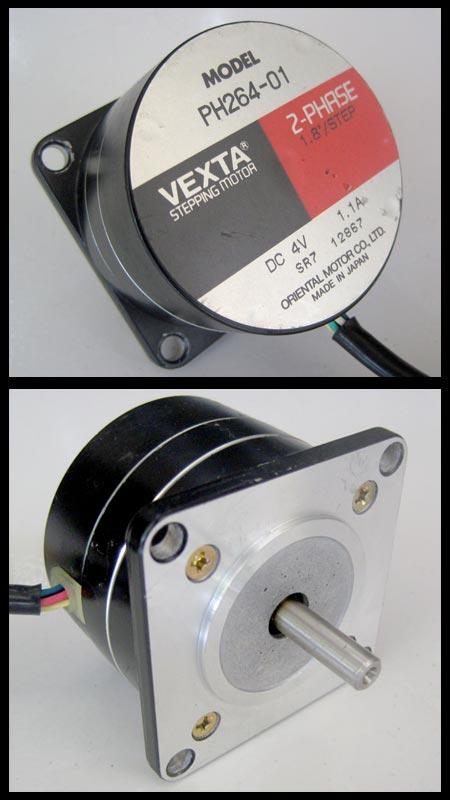 2nd machine stepping motor ph264 01 2 phase vexta Vexta 2 phase stepping motor