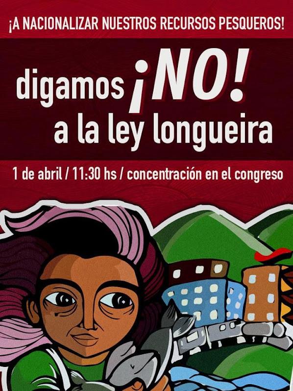 VALPARAISO: A NACIONALIZAR NUESTROS RECURSOS PESQUEROS, DIGAMOS NO A LA LEY LONGEIRA