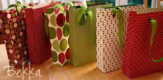 Home Made Gift Bags