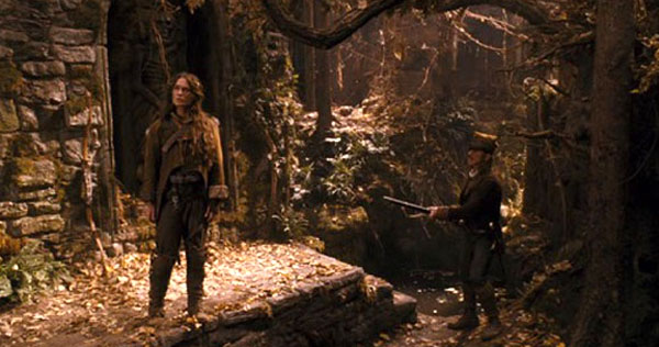 Lena Heady in The Brothers Grimm, released in 2005