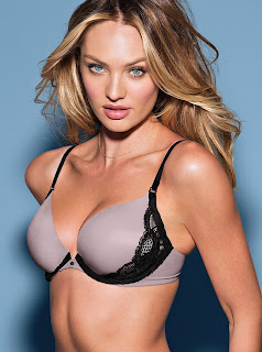 Candice Swanepoel for VS Lingerie, April 2013