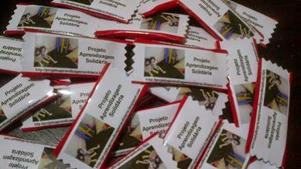 Já estão prontos nossos chicletes para encomendas: saladeaulabr@gmail.com