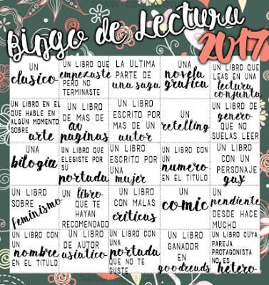BINGO LITERARIO 2017